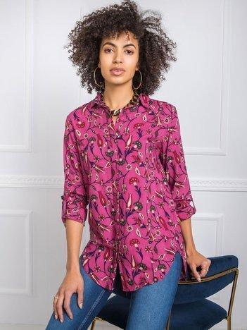 Ciemnoróżowa koszula Jenny RUE PARIS