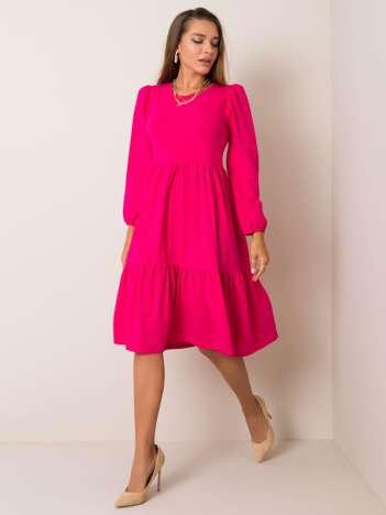 Ciemnoróżowa sukienka Yonne RUE PARIS