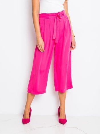 Ciemnoróżowe spodnie Bright