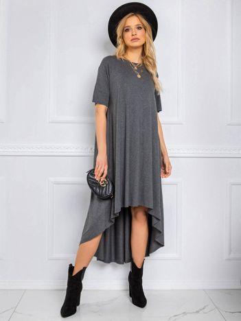 Ciemnoszara sukienka Casandra RUE PARIS