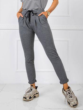 Ciemnoszare spodnie Jess
