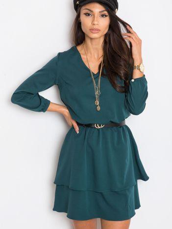 Ciemnozielona sukienka Perfect