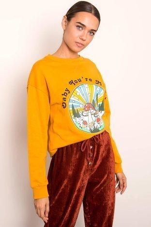 Ciemnożółta bluza BSL