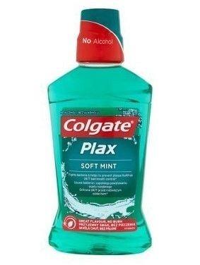 Colgate Płyn do płukania ust Plax Soft Mint  500ml