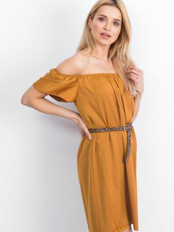 Cynamonowa sukienka Oriental