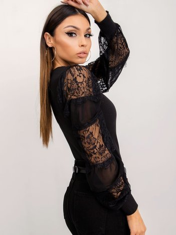 Czarna bluzka Caysi