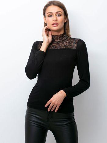 Czarna bluzka Distingue