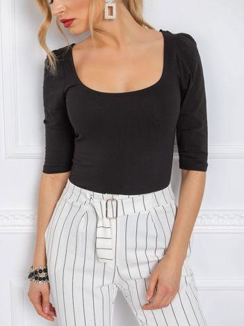 Czarna bluzka Ines