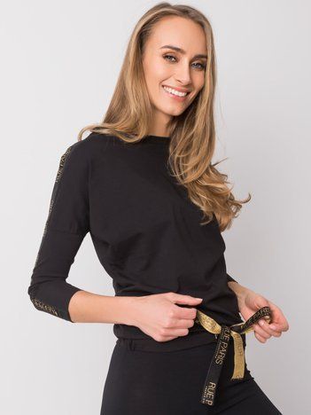 Czarna bluzka Kelly RUE PARIS