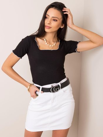 Czarna bluzka Lila RUE PARIS