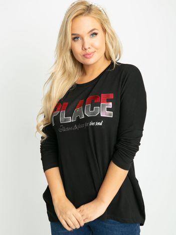 Czarna bluzka plus size Gracie