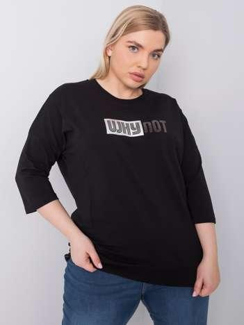 Czarna bluzka plus size Truth