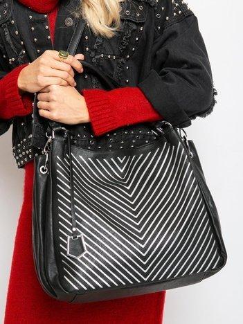 Czarna damska torba miejska