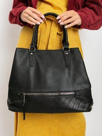 Czarna damska torebka miejska