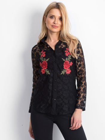 Czarna koszula Bountiful