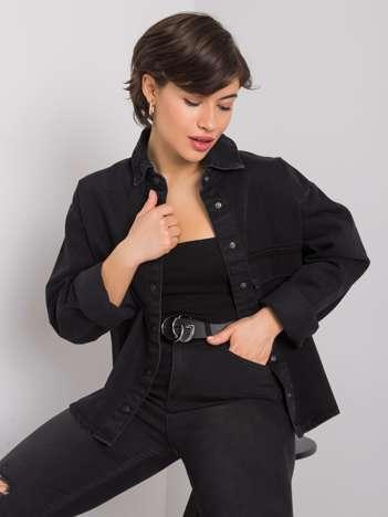 Czarna koszula jeansowa Aston RUE PARIS