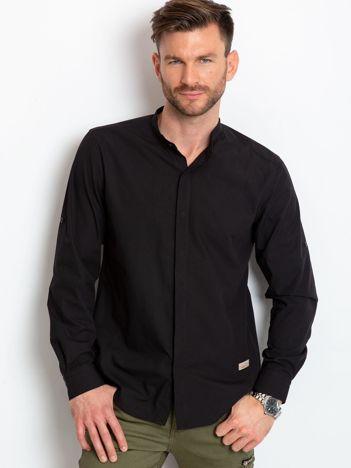 Czarna koszula męska Stanford
