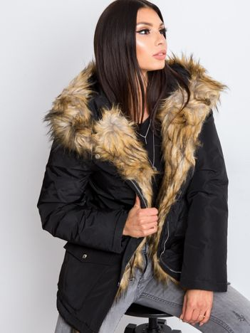 Czarna kurtka Winter