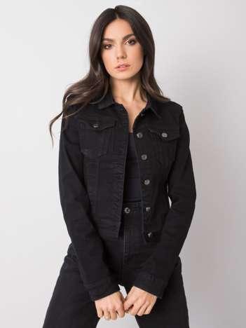 Czarna kurtka jeansowa Belen