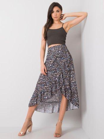 Czarna spódnica z falbaną Azalea