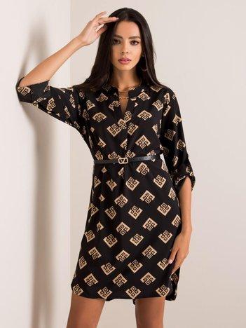 Czarna sukienka Adoria