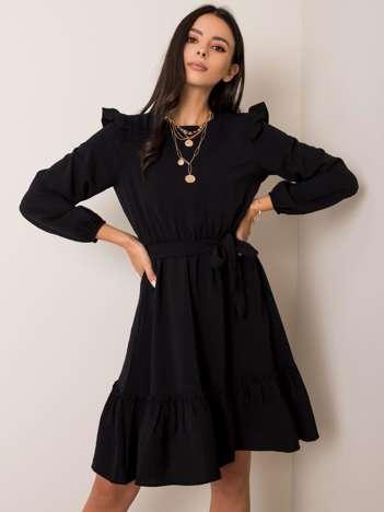 Czarna sukienka Alyssa RUE PARIS