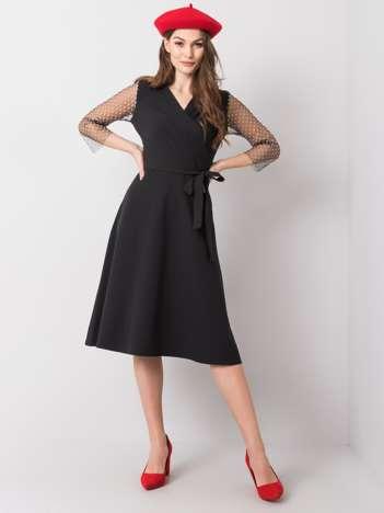 Czarna sukienka Ava