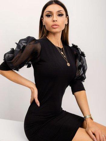 Czarna sukienka Bellissima