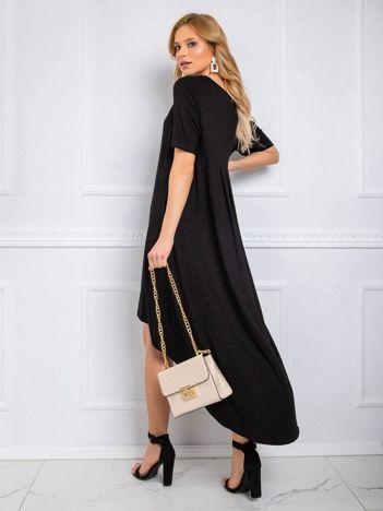 Czarna sukienka Casandra RUE PARIS