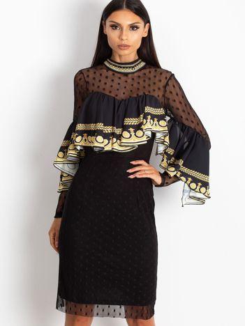 Czarna sukienka Clair