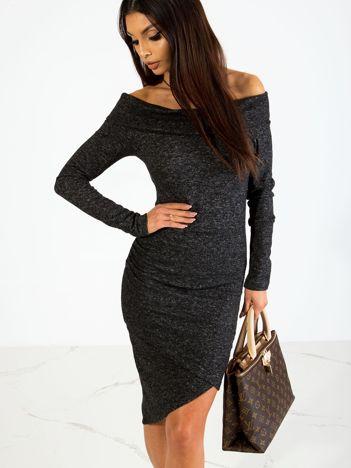 Czarna sukienka Classy
