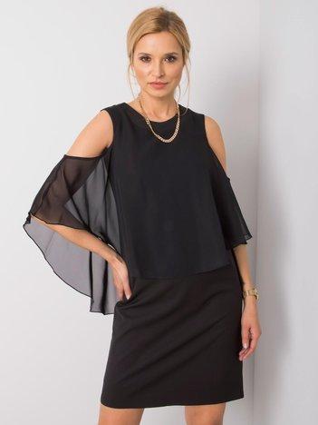 Czarna sukienka Ebby