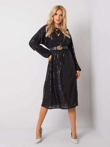 Czarna sukienka Eos OCH BELLA