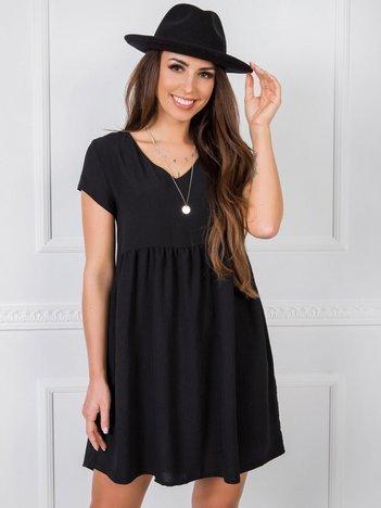 Czarna sukienka Erin RUE PARIS