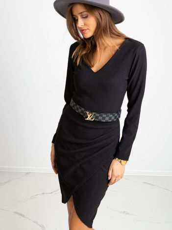 Czarna sukienka Fireside