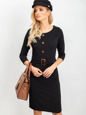 Czarna sukienka Janet