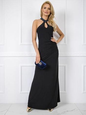 Czarna sukienka Keisha