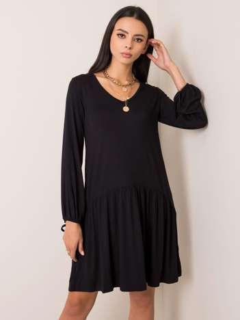 Czarna sukienka Luciana RUE PARIS