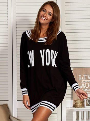 Czarna sukienka NEW YORK