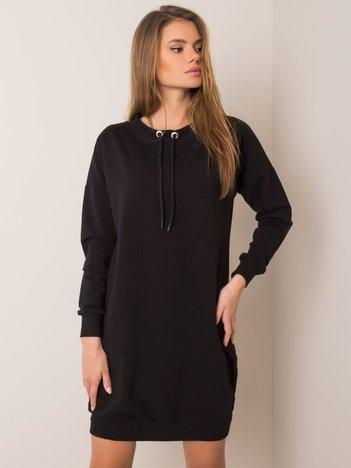 Czarna sukienka Nessa RUE PARIS