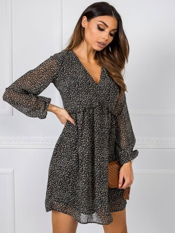 Czarna sukienka Peyton RUE PARIS