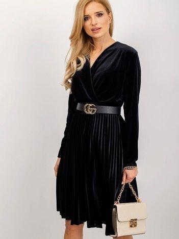 Czarna sukienka Princess