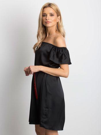 a5c1004904 Czarna sukienka Satinelle