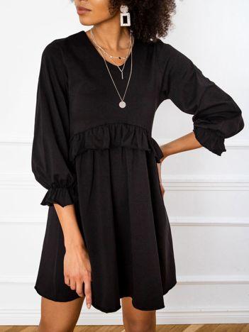 Czarna sukienka Verity