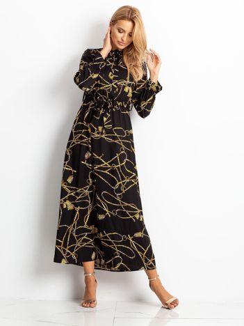 Czarna sukienka Wind