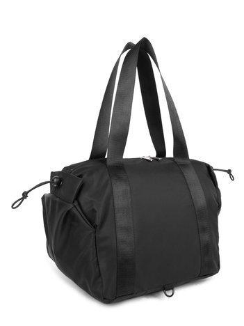 Czarna torba miejska LUIGISANTO