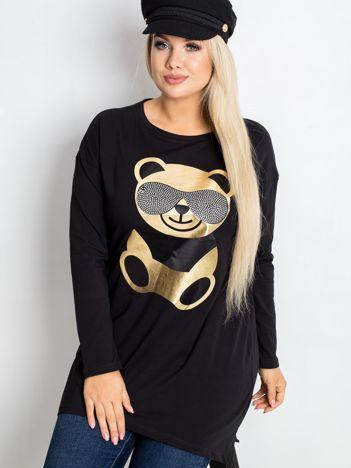 Czarna tunika Bear