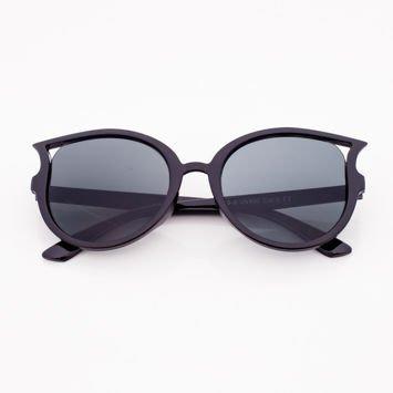Czarne Dziecięce Okulary przeciwsłoneczne KOTY
