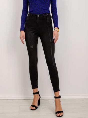 Czarne jeansy Camilla