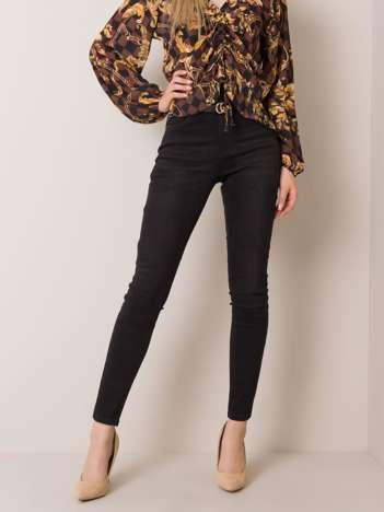 Czarne jeansy Marion